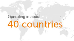 About UCB - 40 countries